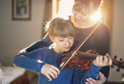 On demand economy violin lessons